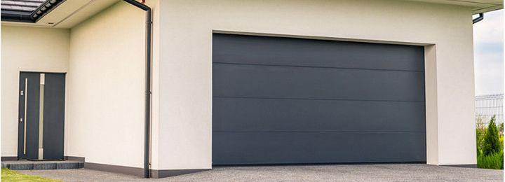 Секційні гаражні ворота TREND