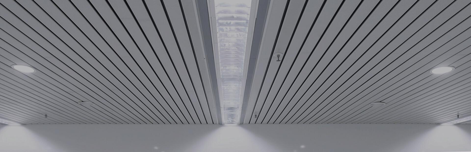 Алюминиевый потолок 1