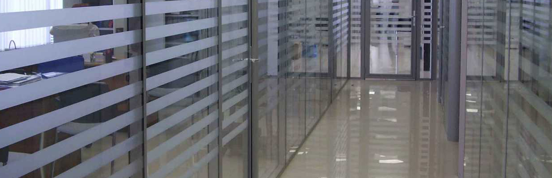 Алюминиевые интерьерные перегородки