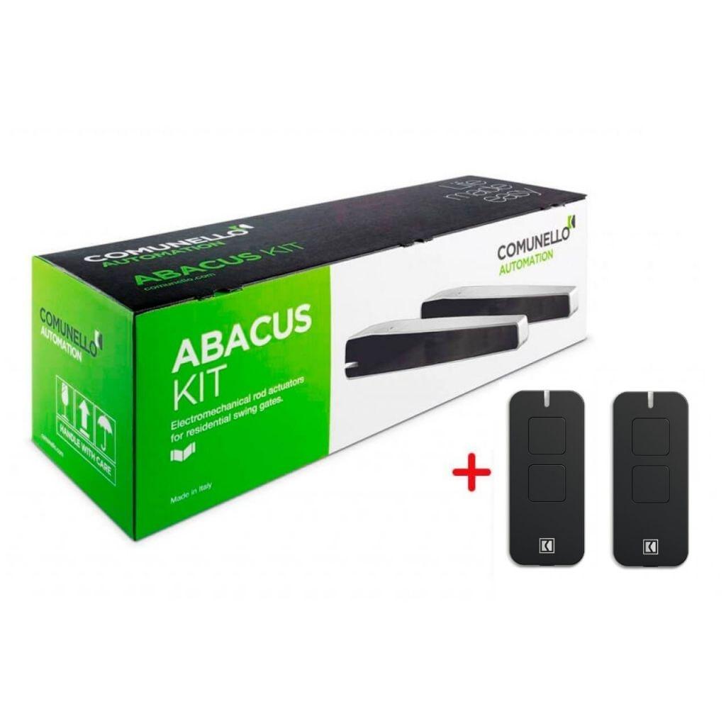 Комплект автоматики для розпашних воріт Comunello ABACUS 300 230V KIT (AS300KIT)