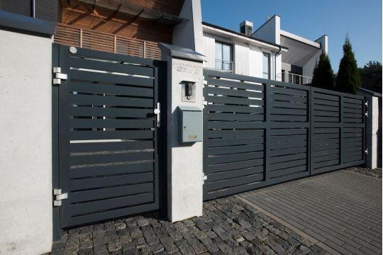 Алюминиевая калитка Prestige 900 ᚷ 2000 мм