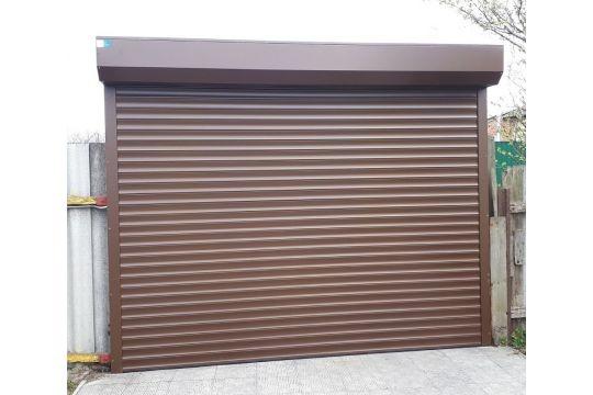 Роллетные ворота Alutech 3090 ᚷ 3090 мм