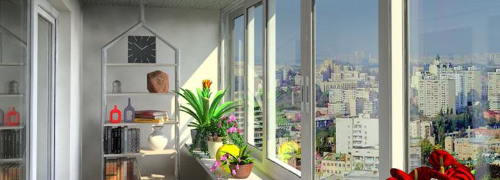 Вікна з холодного алюмінію