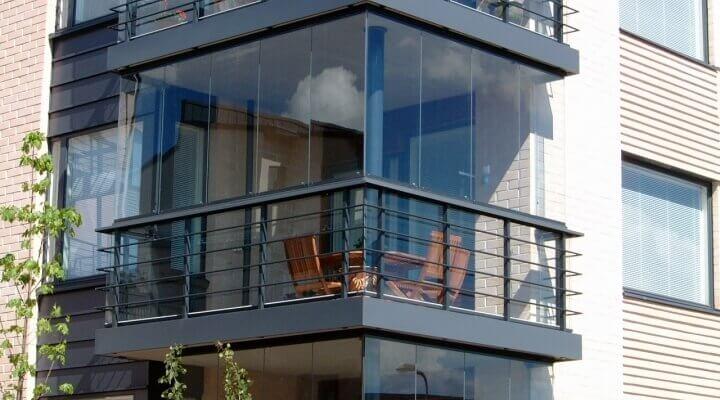 Краще рішення - засклення балконів алюмінієвим профілем