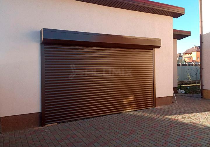 Роллетные ворота для частного клиента
