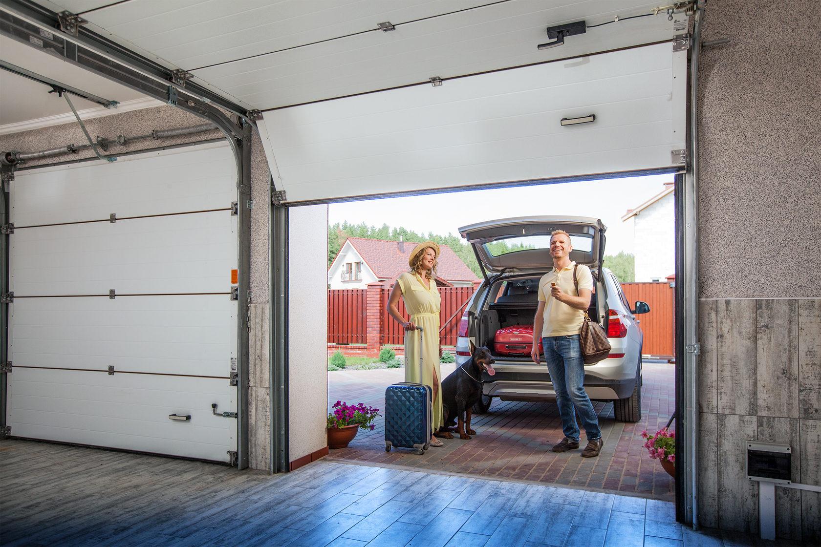 Модернизация уплотнителя в гаражных воротах серии Trend!