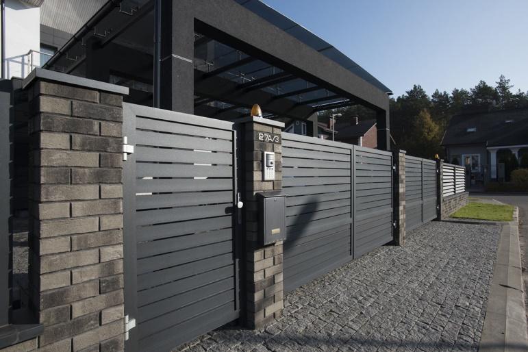 Заборы и ограждения Alutech – стильный дизайн придомовой территории