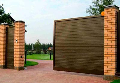 Акция на алюминиевые откатные, распашные ворота и калитки ADS400